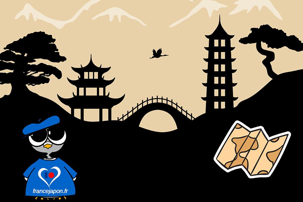 Cartes Japon : Kanto, Kansai, hokkaido ... préparez votre voyage