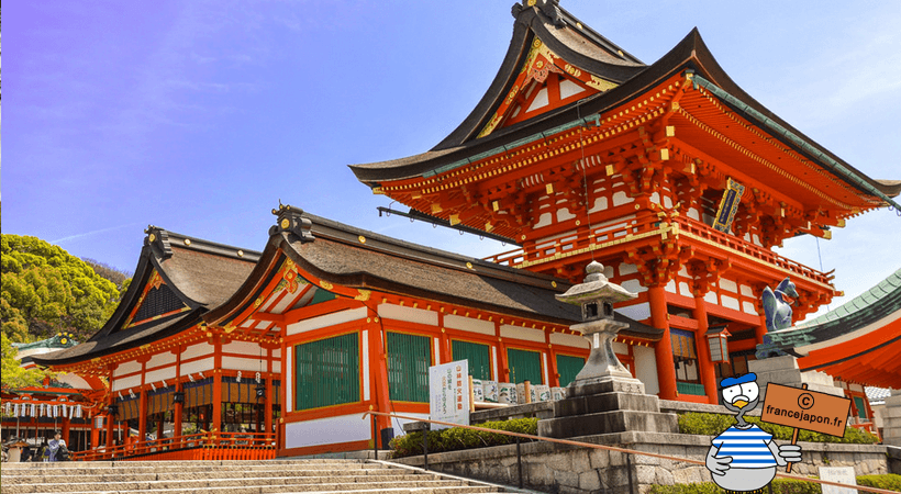 france japon visiter kyoto Fushimi Inari