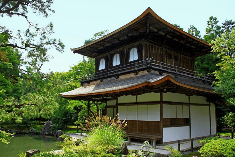 france japon visiter kyoto Ginkakuji pavillon argent
