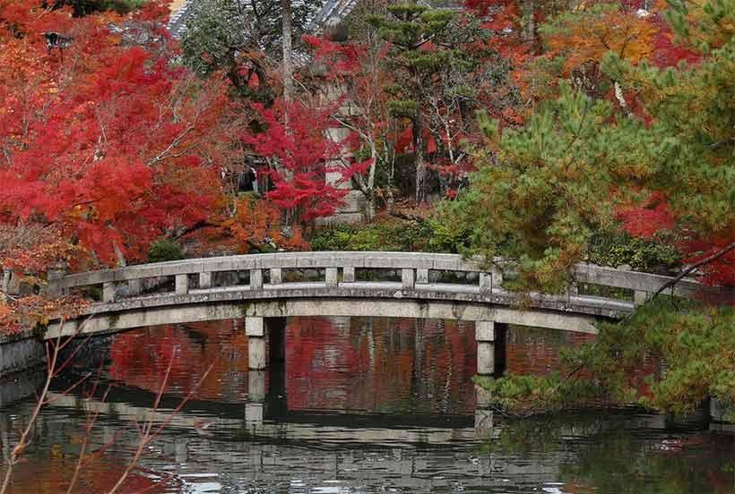 france japon visiter Eikando kyoto Zenrin ji