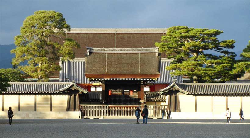 france japon visiter palais imperial kyoto