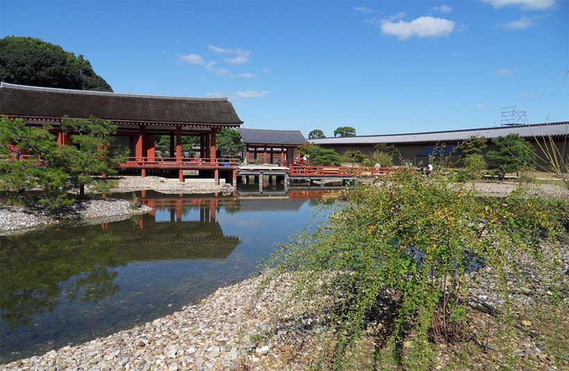 france japon visiter le palais imperial nara heijo palace