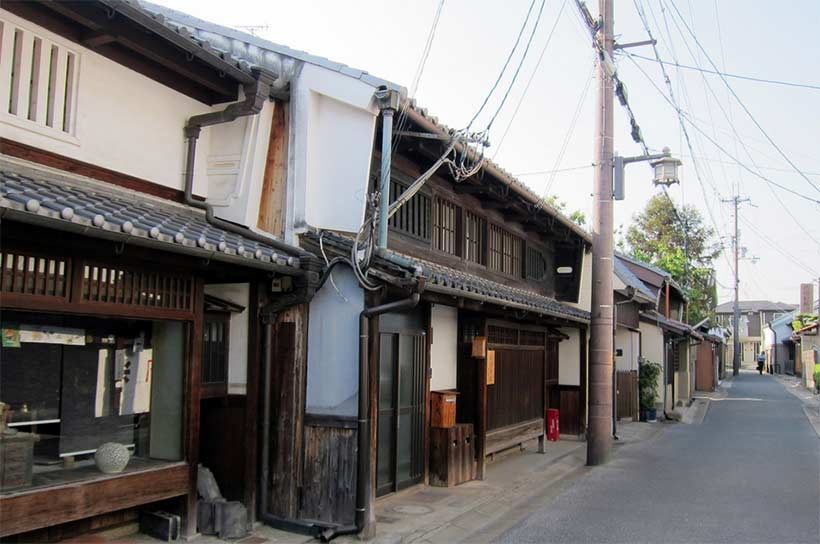 france japon visite nara Naramachi