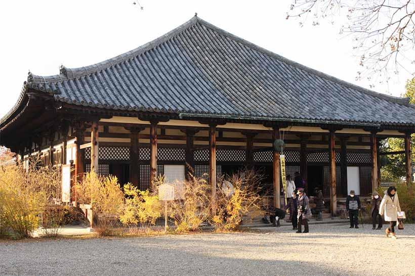 france japon visite nara Naramachi Gangoji