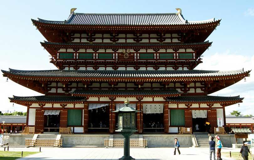 france japon visiter le temple Yakushiji nara