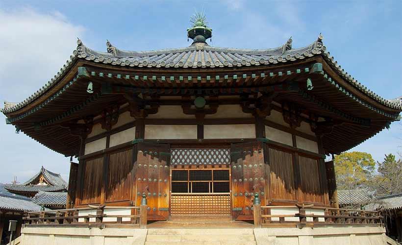 france japon visiter temple Horyuji Horyu ji nara