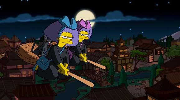 insolite japon quand les simpsons rendent-hommage a lunivers de miyazaki