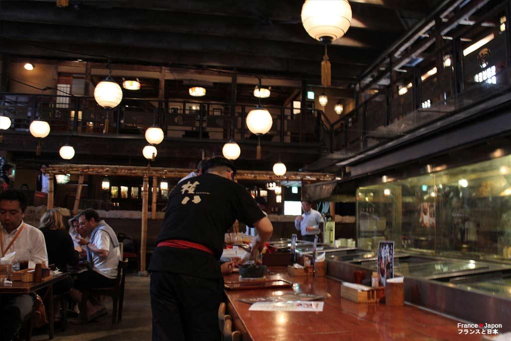 tokyo voyage japon le gonpachi ou le restaurant kill bill