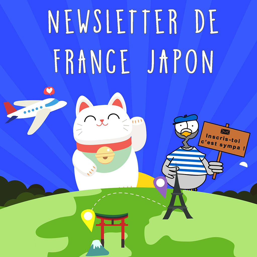 inscription newsletter france japon