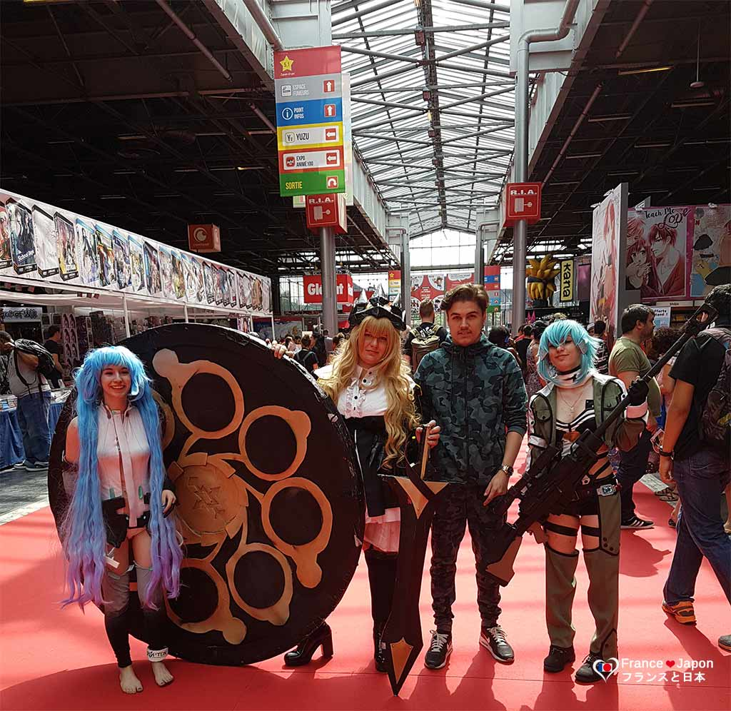 france japon japan expo 2017 paris villepinte