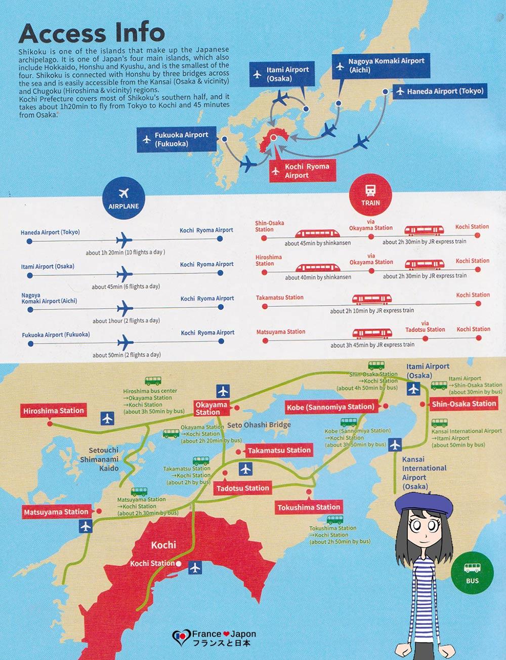 voyage japon visiter kochi