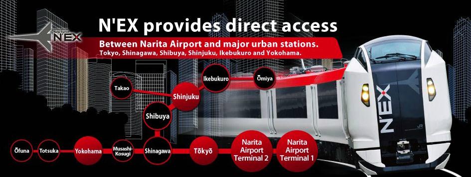 narita express aeroport narita voyage japon