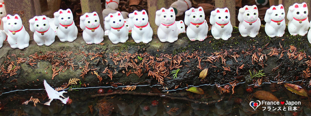 voyage japon tokyo visiter le temple gotokuji ou le temple a maneki neko