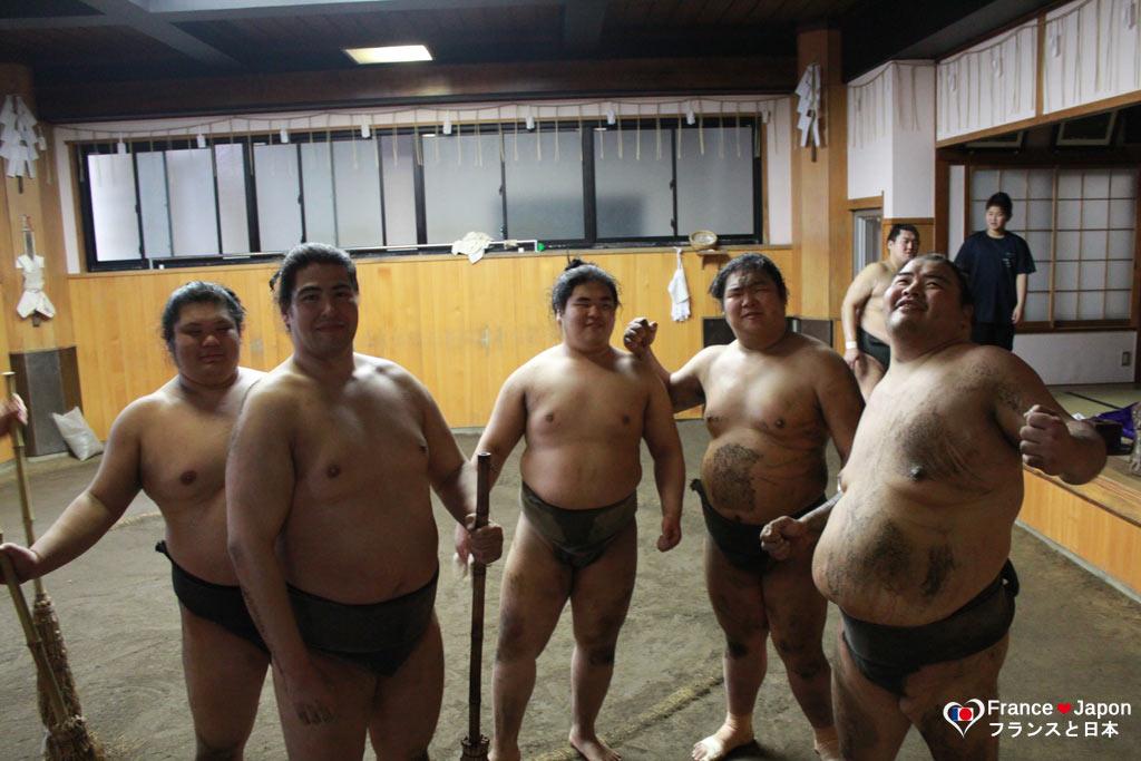 voyage japon tokyo assister a entrainement sumo beya ryogoku