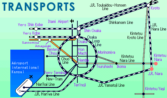 france japon transport train visite nara