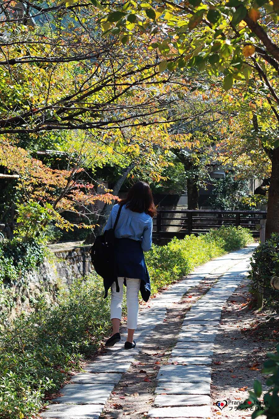voyage japon kyoto chemin philosophie