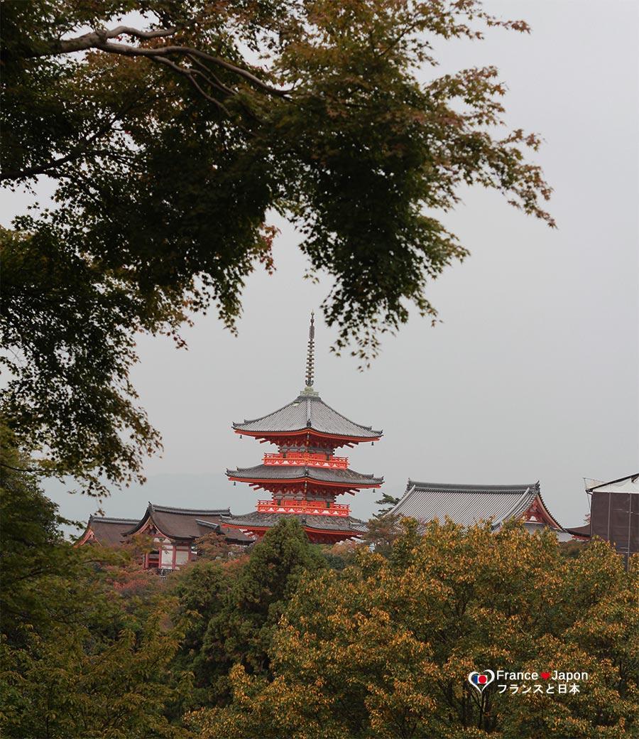 voyage japon kyoto temple kiyomizu dera