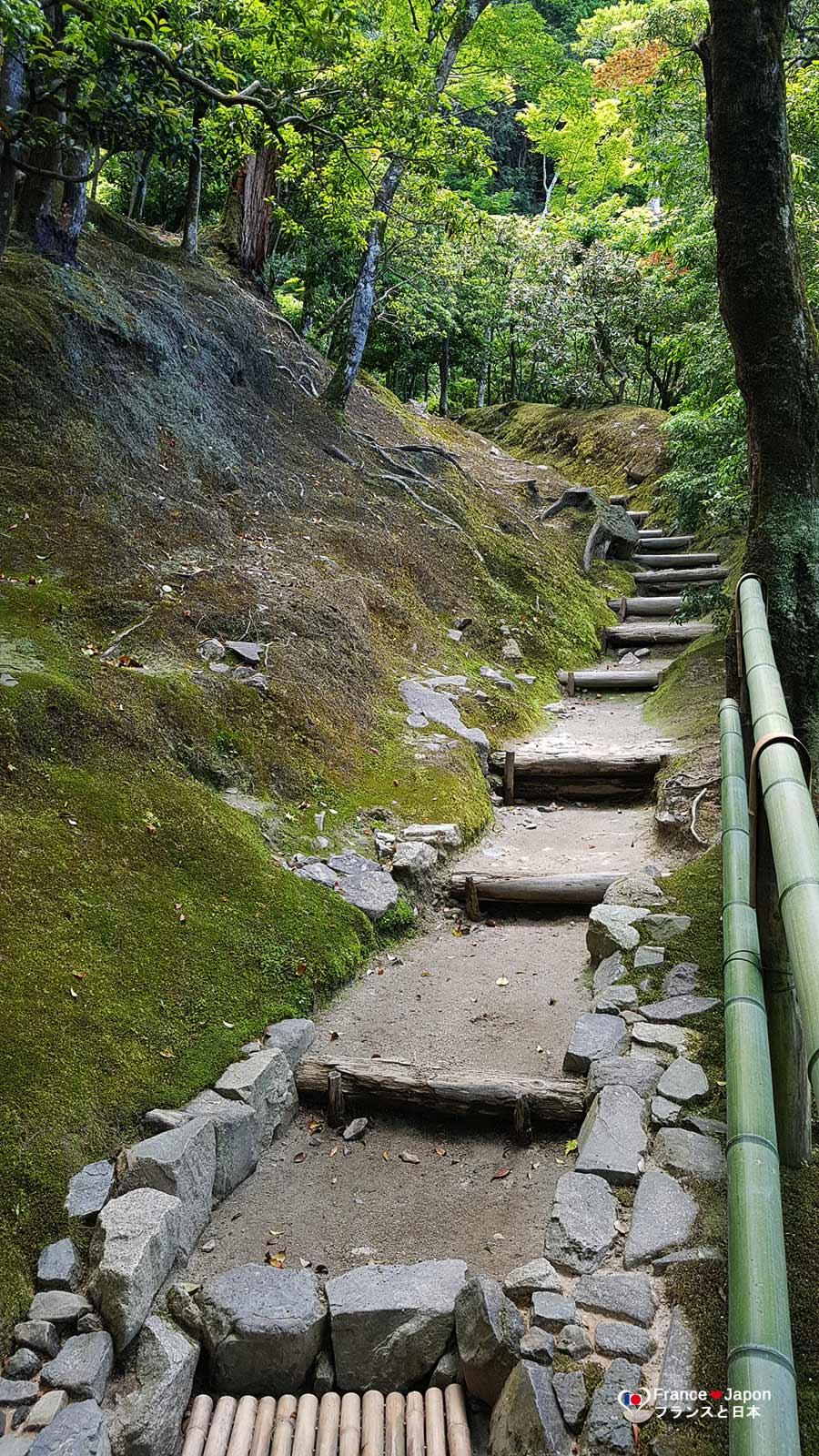 voyage japon kyoto visiter le temple ginkaku-ji ginkakuji pavillon argent