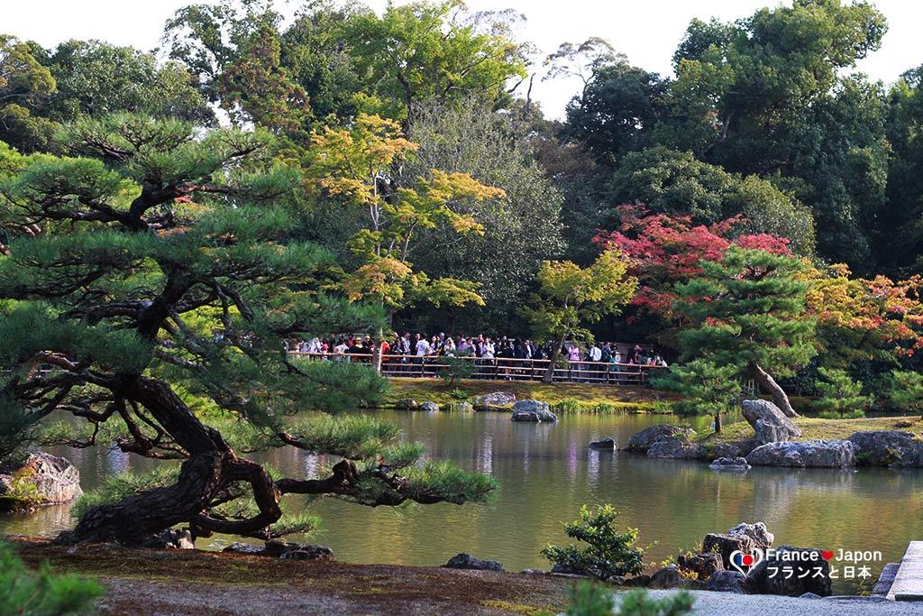 voyage japon kyoto visiter le temple kinkaku-ji kinkakuji pavillon or