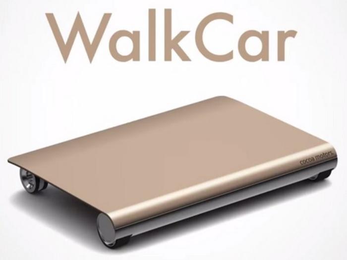 Insolite Japon le Walkcar le nouveau moyen de se déplacer des Japonais