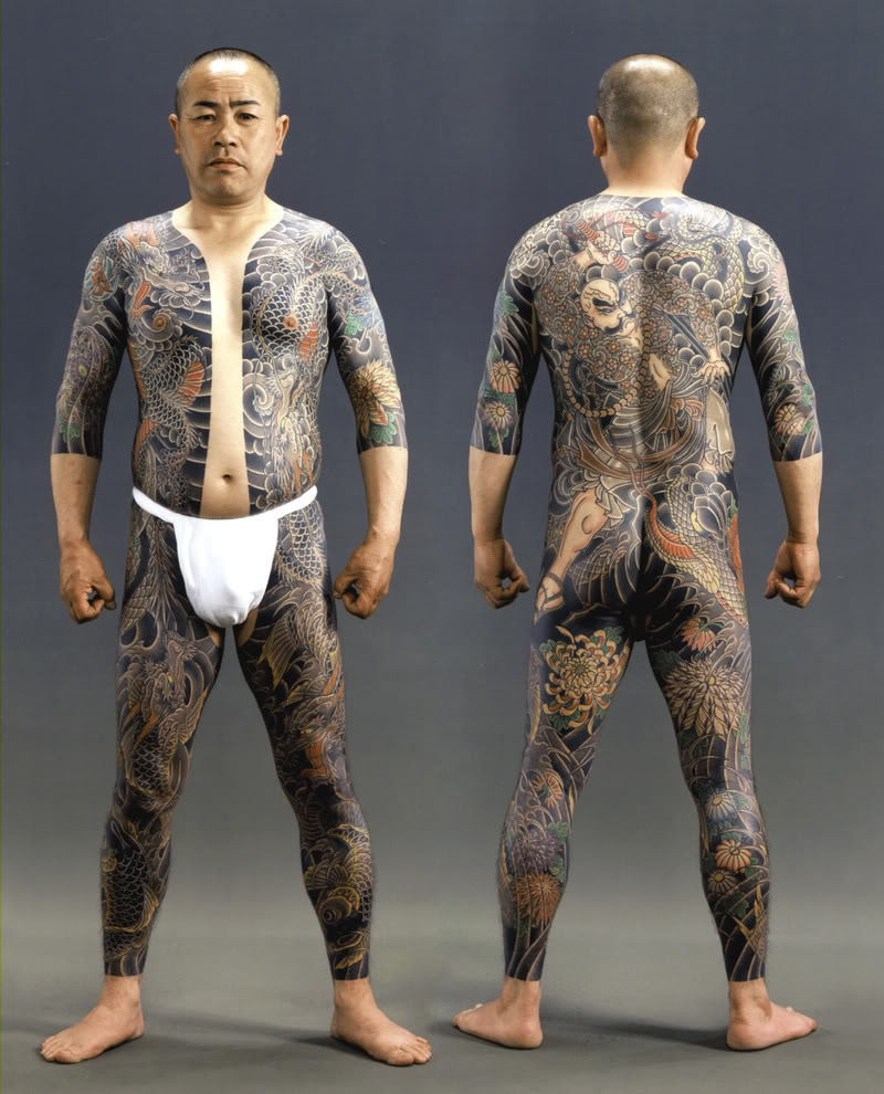 france japon tatouage japonais irezumi yakuza