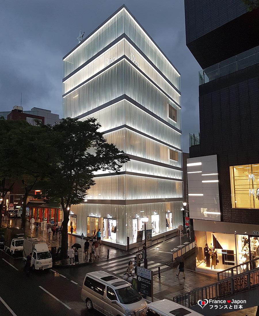 france japon visiter omotesando tokyo Louis Vuitton