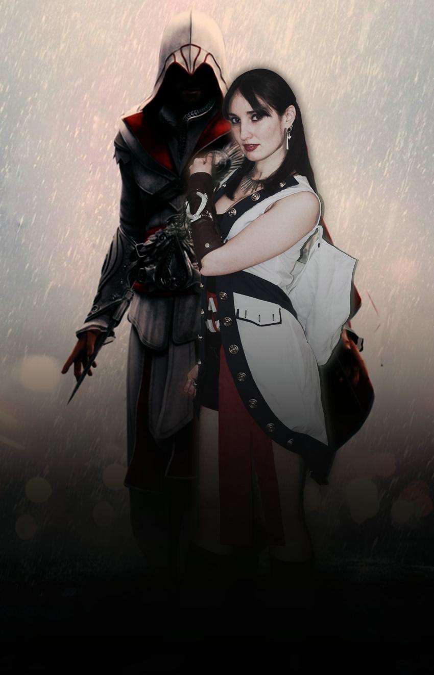 france japon cosplay assassin creed femme