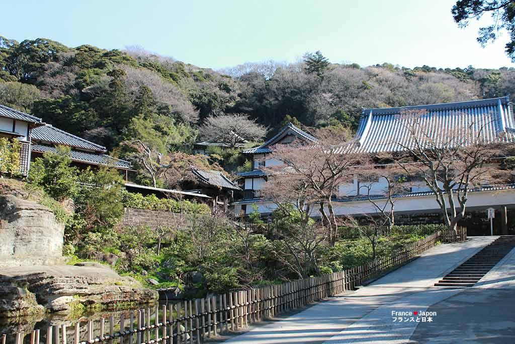 voyage japon kamakura visiter le temple engakuji kita kamakura