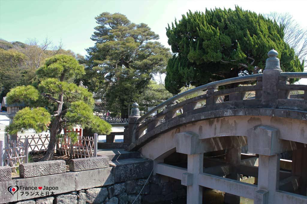 voyage japon kamakura visiter le temple tsurugaoka hachimangu