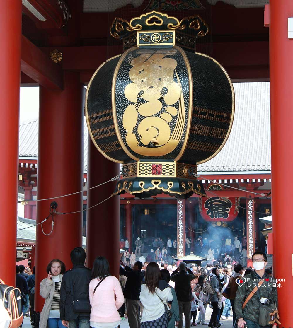 voyage japon tokyo visiter le quartier de asakusa senso ji sensoji