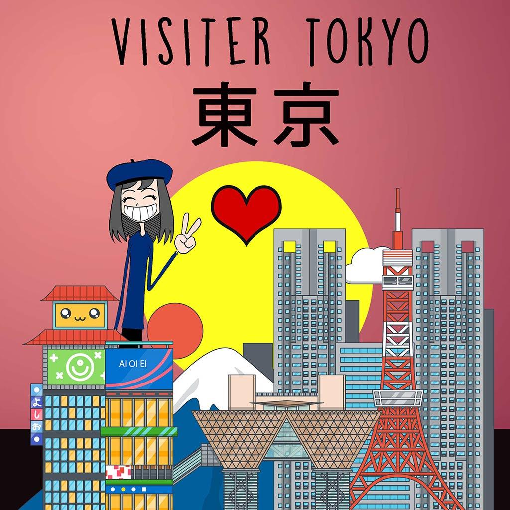 voyage japon visiter Tokyo