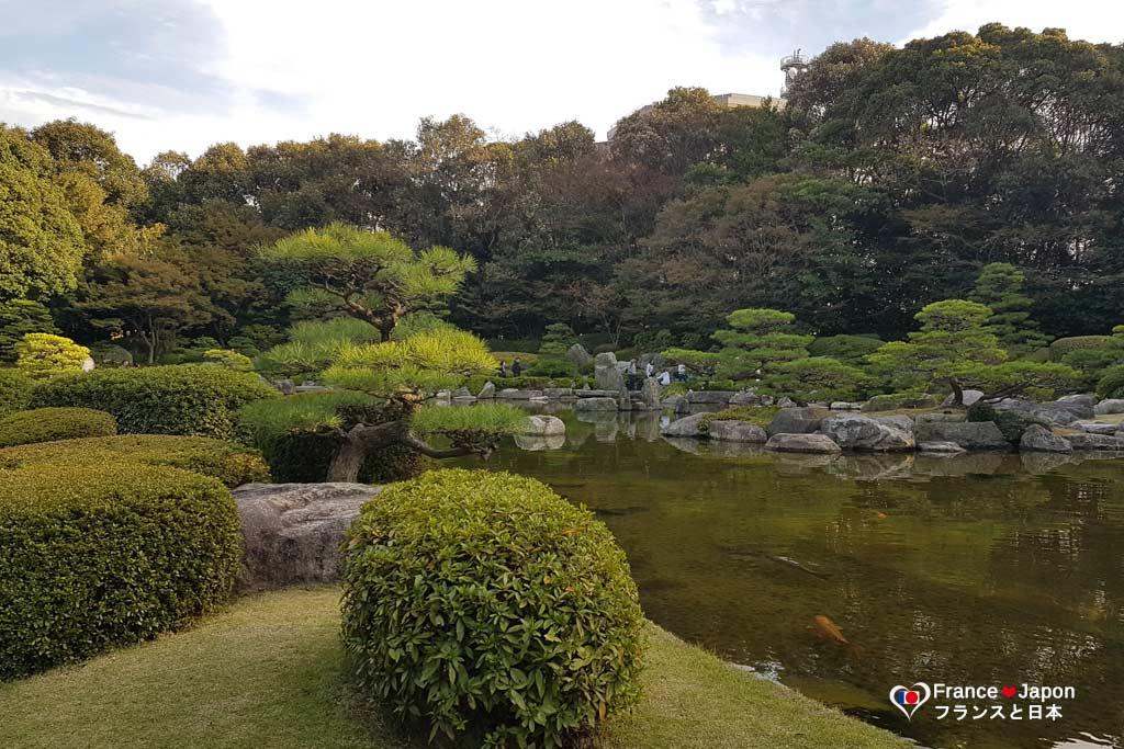 voyage japon visiter fukuoka kyushu fukuoka parc ohori
