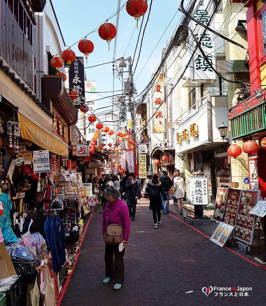 voyage japon visiter quartier chinois chinatown china town yokohama