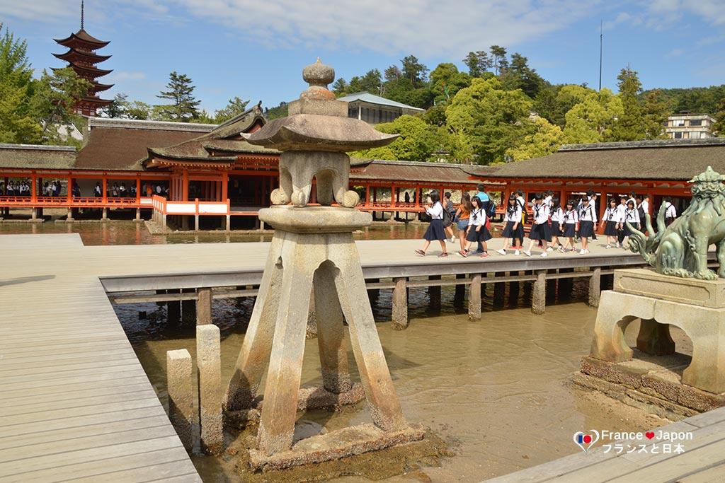 voyage japon visiter miyajima sanctuaire itsukushima