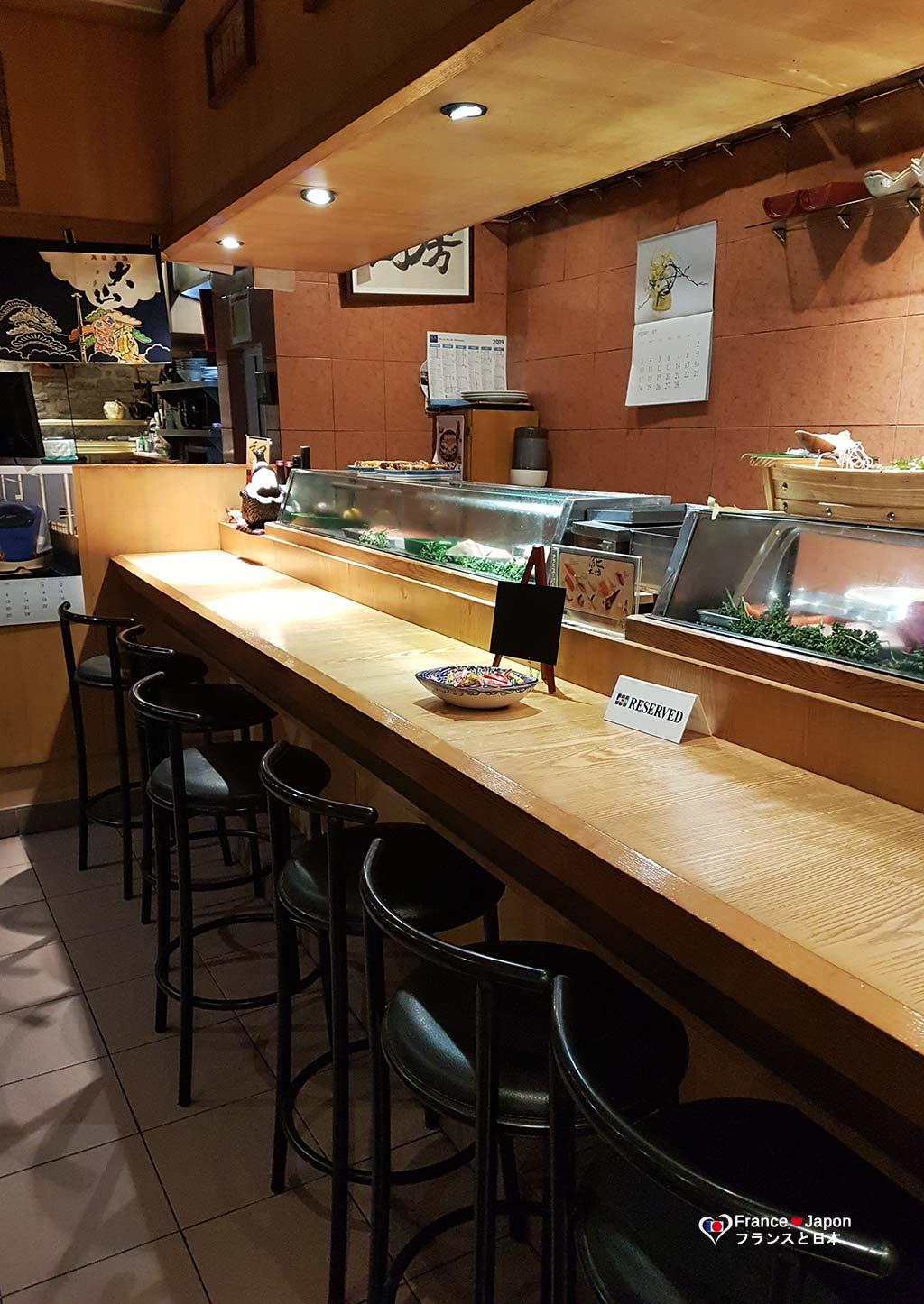 Matsuda meilleur restaurant japonais paris sushi sashimi