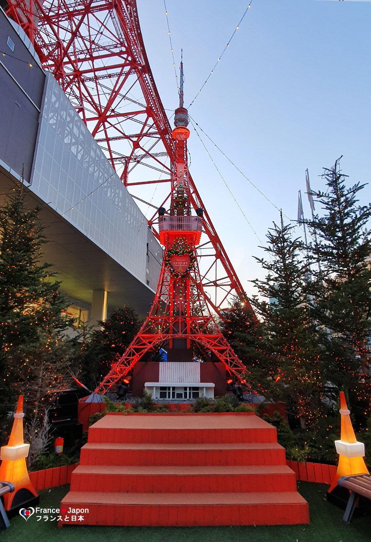 voyage japon marche de noel tokyo parc shiba tokyo tower